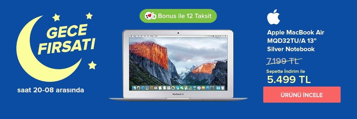 MacBook MQD32 Kampanyası