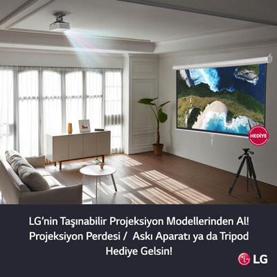 LG Projektörüne Hediye