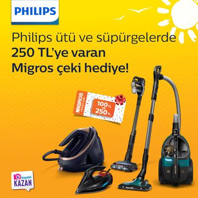 Philips Ütü Ve Süpürgelerde Yaz Fırsatları