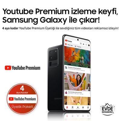 Samsung YouTube Premium Kampanyası