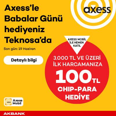 Axess Babalar Günü Kampanyası