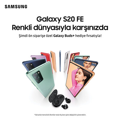 Samsung Galaxy S20 FE Galaxy Buds+ Hediyeli