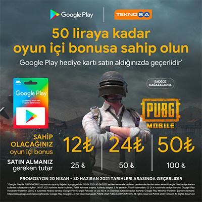 50 Liraya Kadar Oyun İçi Bonus Kampanyası