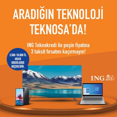 ING ile Aradığın Teknoloji Teknosa'da