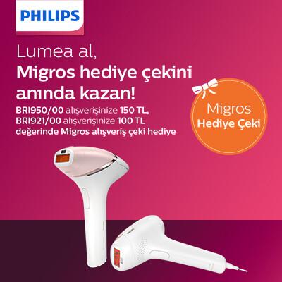Philips Lumea Al Migros Hediye Çeki Kazan Kampanyası