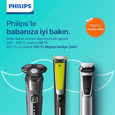 Philips'le Babanıza İyi Bakın Kampanyası