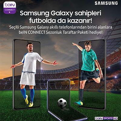 Samsung Galaxy beIN Connect Sezonluk Taraftar Paketi Kampanyası