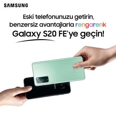 Rengarenk Galaxy S20 FE