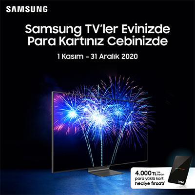 Samsung TV Para Kart Kampanyası
