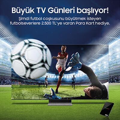 Samsung Büyük TV Günleri Kampanyası