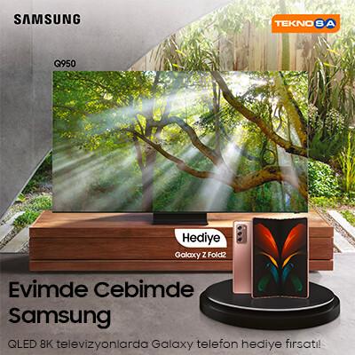 Evimde Cebimde Samsung Kampanyası