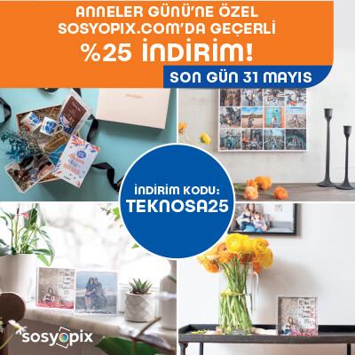 Sosyopix Anneler Günü Kampanyası