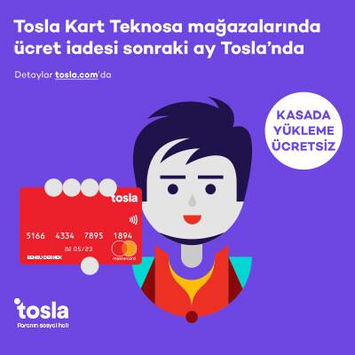 Tosla Kart Kampanyası
