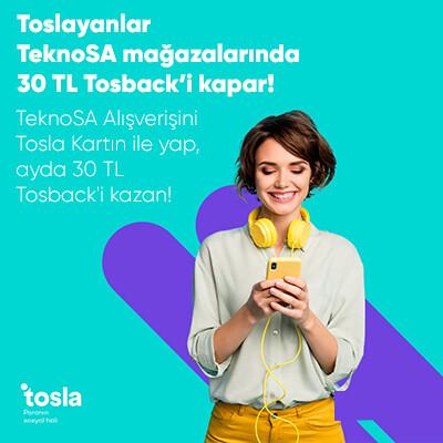 TeknoSA Mağazalarında 30 TL Tosback Kampanyasi