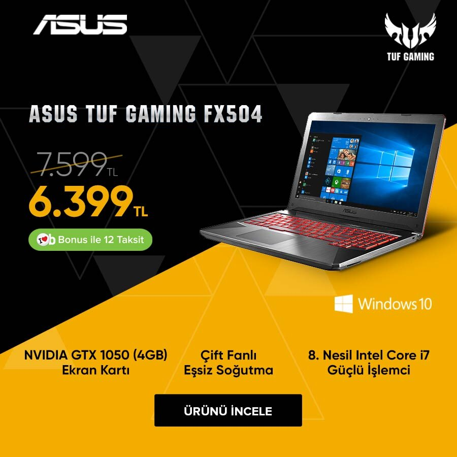 Asus Notebook FX504