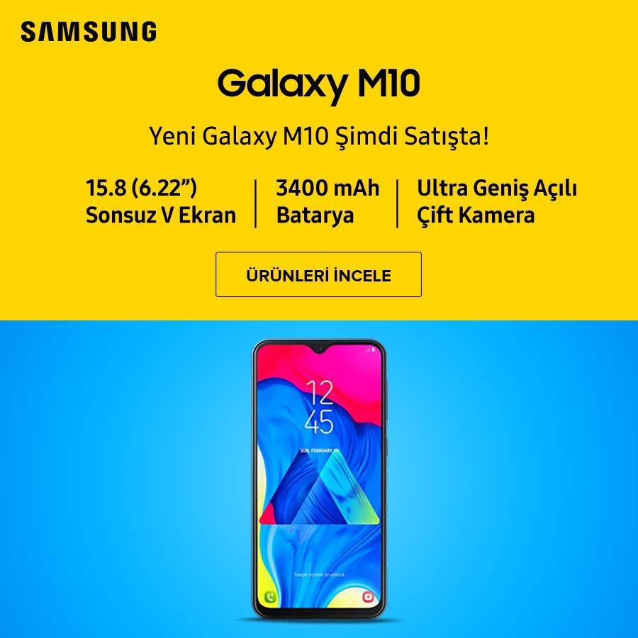 Samsung M10 Banner