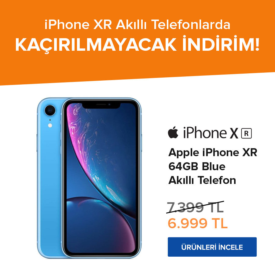 iphone xr indirim