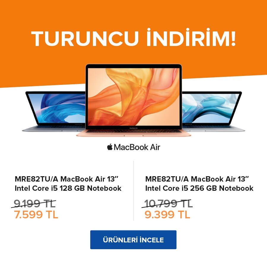 Yeni Macbook Air