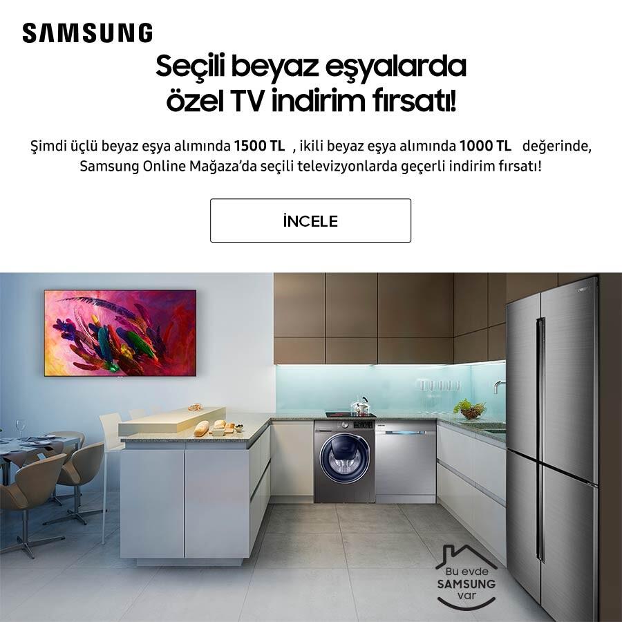 Samsung Beyaz Eşya Tv Kampanyası