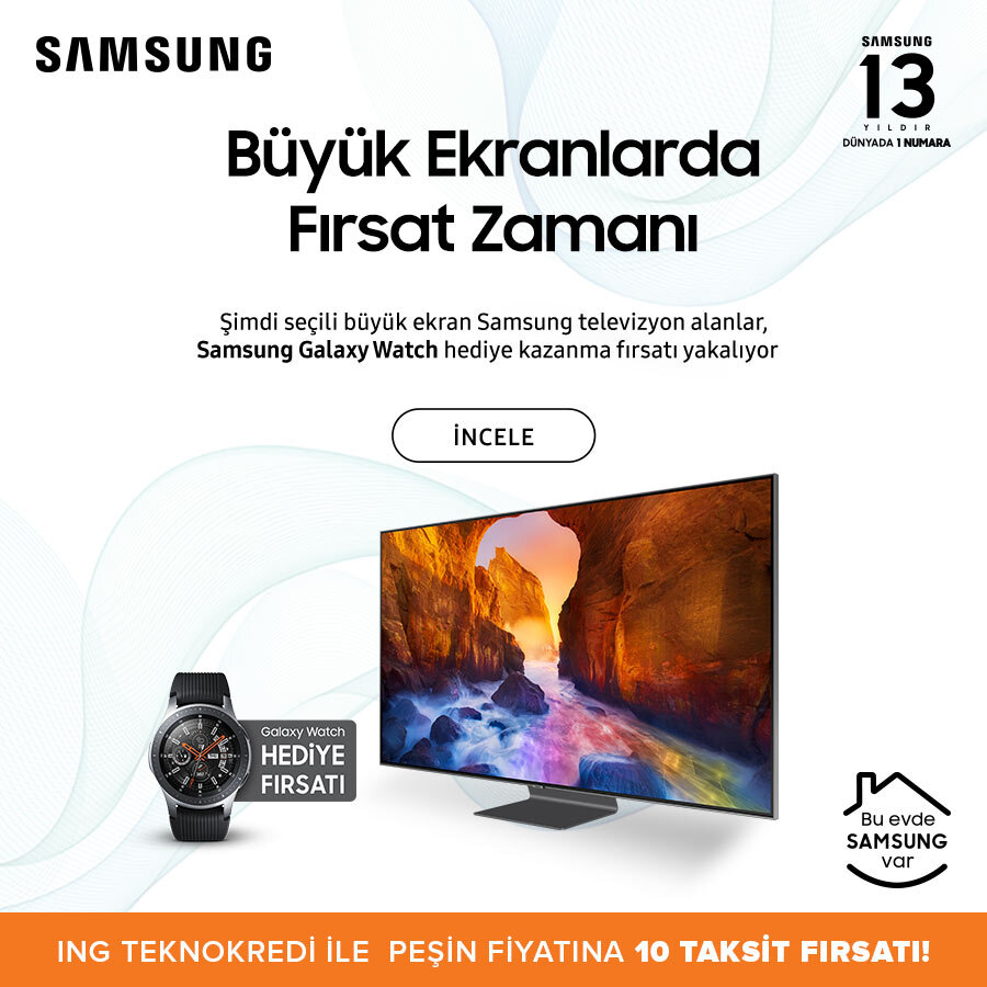 Samsung TV Watch hediyeli