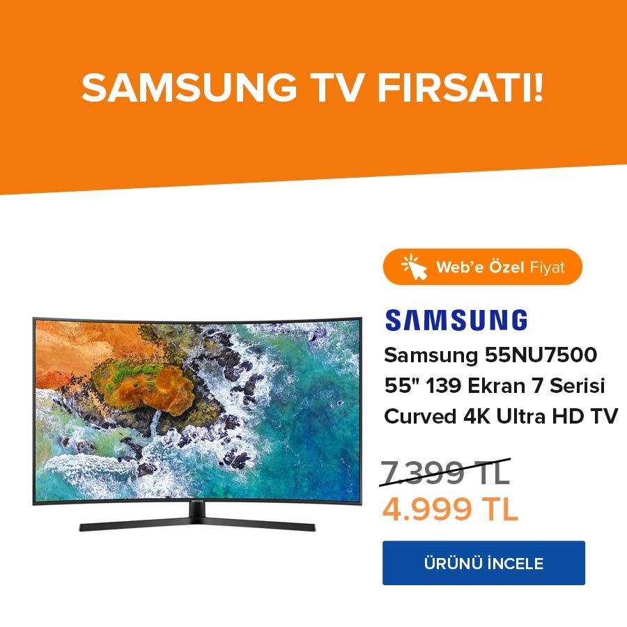 Samsung TV web özel