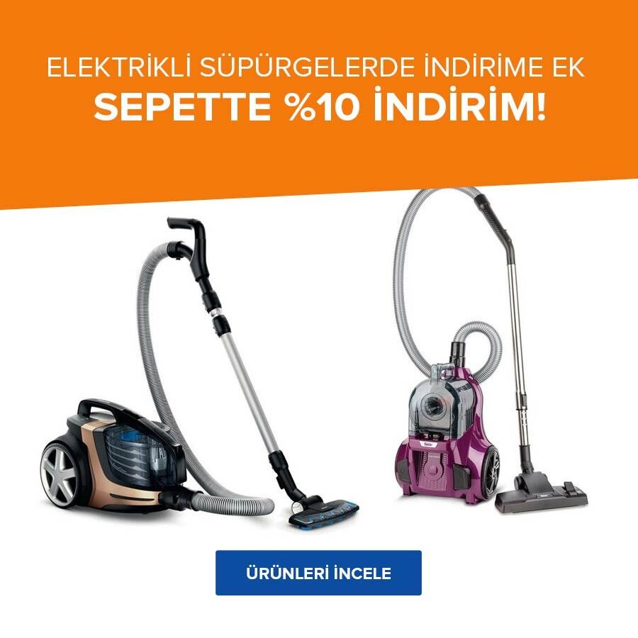 Süpürgelerde Sepette %10