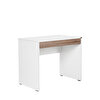 Adore CMS-301-LP-1 Çekmeceli Çalışma Masası Latte Diamond Beyaz