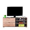 Adore Flat Line Plus TVC-502-LL-1 İki Çekmeceli Üç Bölmeli Tv Sehpası Latte