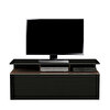 Adore Vision TVC-529-NS-1 Çekmeceli TV Sehpası Noce Lake Siyah
