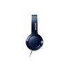 PHILIPS SHL3075BL/00 BASS+ Kafabantlı Mikrofonlu Kulaklık MAVİ
