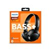 Philips Shb3075Bk/00 Bass+ Kulaküstü Mikrofonlu Bluetooth Kulaklık - Siyah