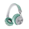 Preo My Sound MS33 Kulak Üstü Kablosuz Bluetooth Kulaklık-Yeşil