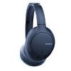 Sony WHCH710N Kulak Üstü Mikrofonlu Gürültü Engelleme Özellikli Kablosuz Kulaklık Mavi