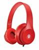 Preo My Sound MS34SX-Bass Kablolu Kulak Üstü Kulaklık Kırmızı