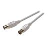 Vivanco 43028 7/138-N Anten Kablosu 3M Beyaz