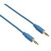 Hama 135781 3.5mm -3.5mm Flexı-Slım Altın Uç Mavi 0.75M