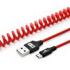Swiss Charger Scc-10010 Spiral Micro Usb Şarj Ve Data Kablosu 1.5M