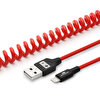 Swiss Charger Scc-10011 Spiral iPhone Usb Şarj Ve Data Kablosu 1.5M