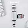 Daytona ADS-103 Type-C To USB 3.0 Sd Tf Kart Okuyucu