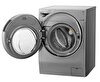 LG FH6G1BCHK6N A Enerji Sınıfı 12 Kg Yıkama/ 8 Kg Kurutmalı 1600 Devir Gri Çamaşır Makinesi