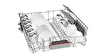 Bosch SMI46MS00T 6 PRG A+ 48 dB  9,5 Lt Variodrawer Plus Yarı Ankastre Paslanmaz Çelik Bulaşık Makinesi