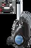 Siemens VSX7XTRM 3 Lt Sensör Bagless Hepa Filtre Siyah/Mavi Toz Torbasız Süpürge