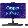 Casper Nirvana A500 Intel Core i5-10400 4 GB RAM 120GB SSD Win 10 Home Siyah Desktop
