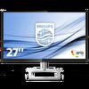 """276E9QDSB PHILIPS 27"""", IPS, 75 Hz'de 1920 x 1080, 5ms, 250  cd/m² , VGA-DVI-HDMI, Siyah / Gümüş renk ( TESHIR )"""