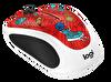 Logitech 910-005054 Doodle Collection Kablosuz Mouse (Champion Coral)