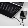 Hama HM135784 USB-C USB-A Kablo Flexi 0.75M Siyah