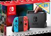 Nintendo Switch Konsol Dijital Kuponlu Paket Kırmızı/Mavi