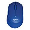 Logitech M330 Silent Kablosuz Mouse (Mavi)