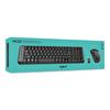 Logitech Mk220 Kablosuz Combo Tr Klavye Mouse Set (920-003163)