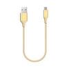 Ttec Alumicable Mini 30cm Micro USB Şarj Kablosu - Altın